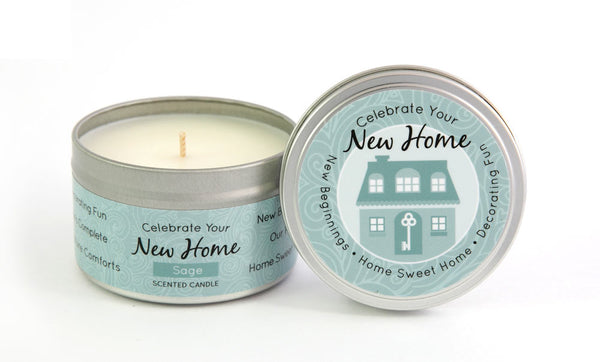 New Home Milestone Candle