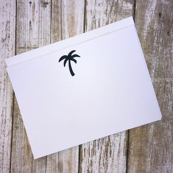 Palm Tree Notecards - 8 Pack