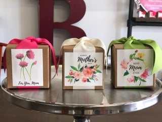B. Toffee - Mother's Day Kraft Gift Box - 4oz