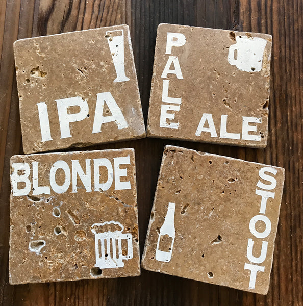 Hops Drink Coasters