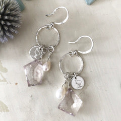 Lulu LilyBird Circle Earrings