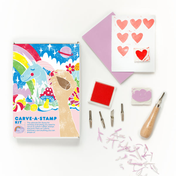 DIY Carve-A-Stamp Kit