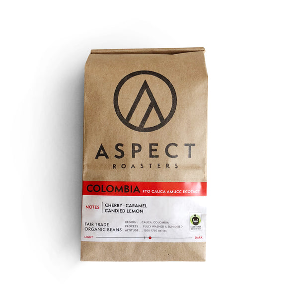 12oz Bag Whole Bean Coffee (Columbia Single Origin)