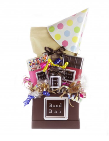Bond Bar Birthday Basket