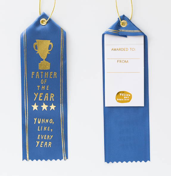 Award Ribbon Card - Father of the Year