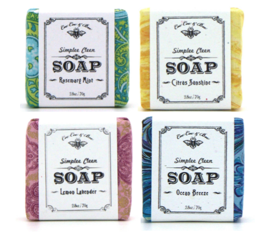 Handmade Soap Gift Set - 4 Pack