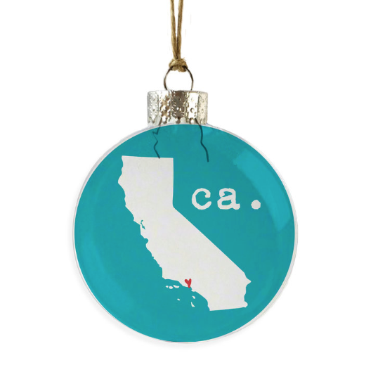 California Love Ornament