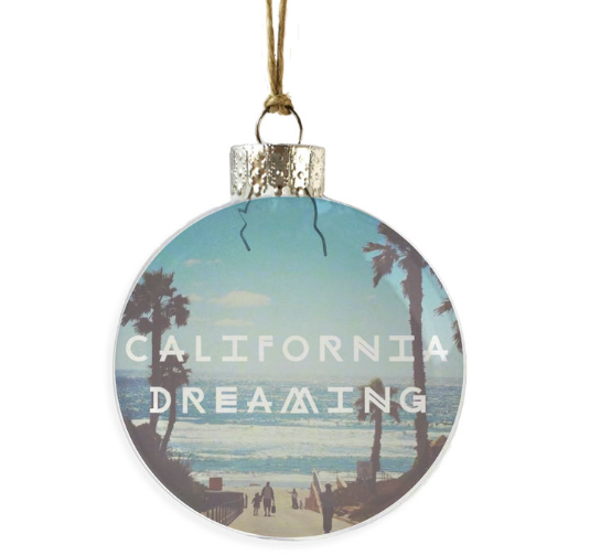 California Dreaming Ornament
