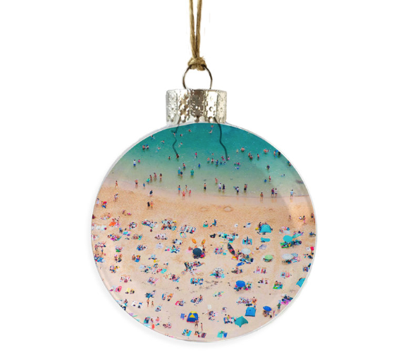 Beach View Ornament