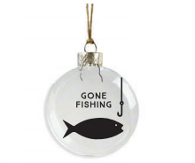 Gone Fishing Ornament