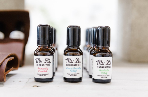 Mr. B's Set of 5 Aromatherapy Roll-Ons