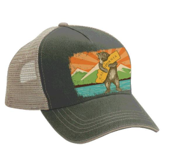Mountain Bear Trucker Hat