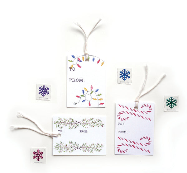 Holiday Gift Tags - 9 Pack