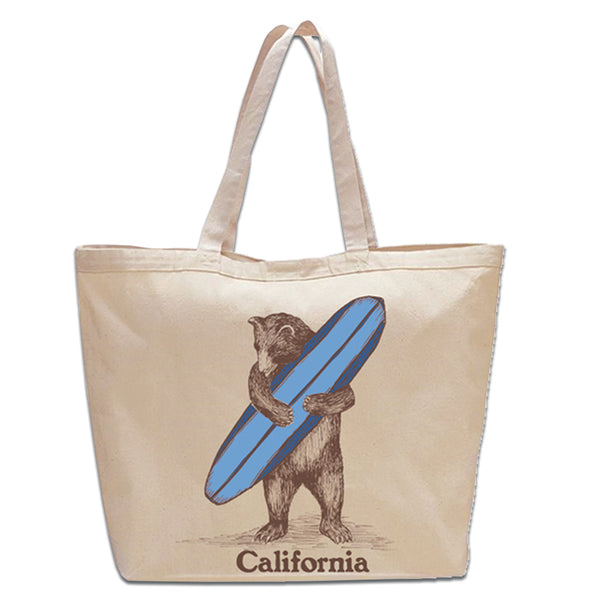 Surf Bear Beach Bag