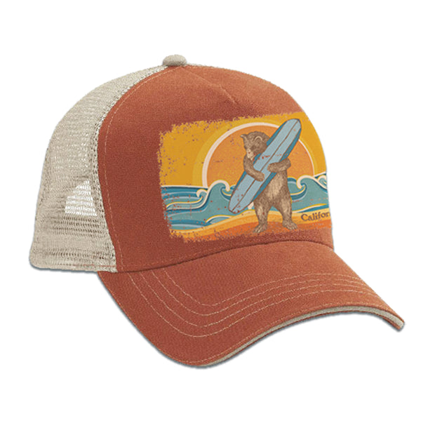 Surf Bear Trucker Hat