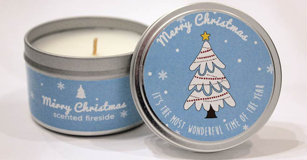 Christmas Tree Milestone Candle