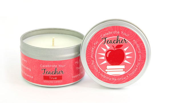 Teacher Appreciation Milestone Candle