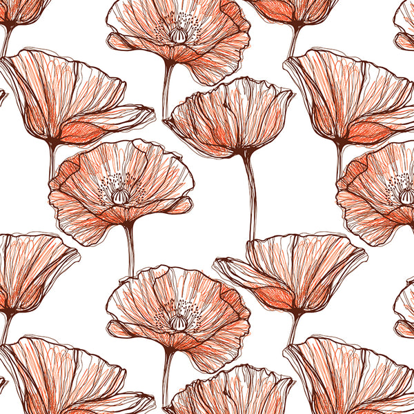 Poppies Gift Wrap