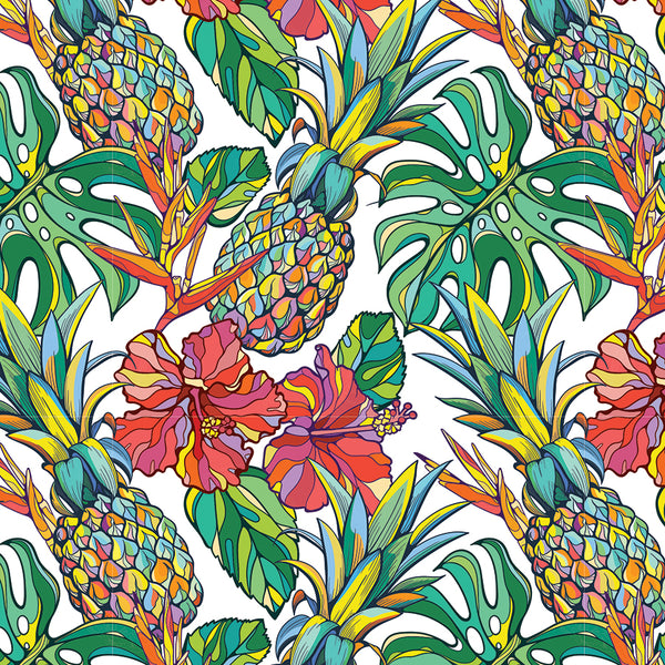 Tropical Pineapple Gift Wrap