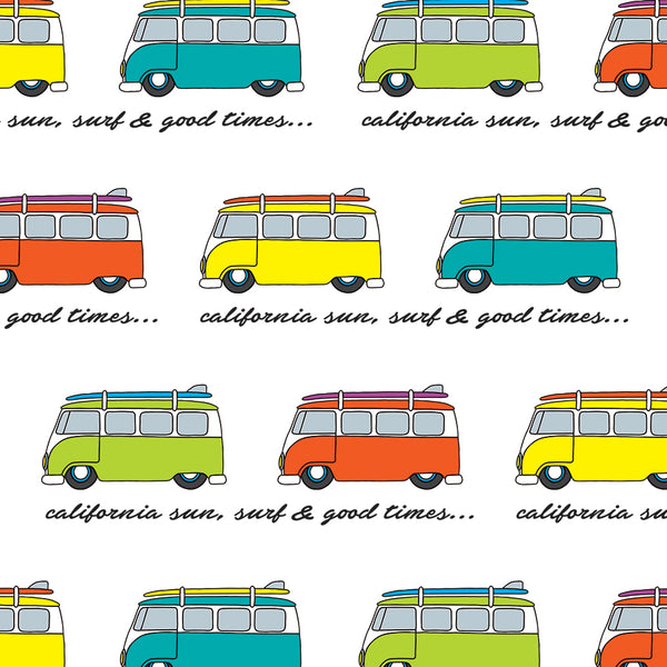 VW Bus Gift Wrap