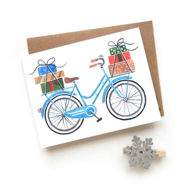 Holiday Bicycle Cards (6 Pack)