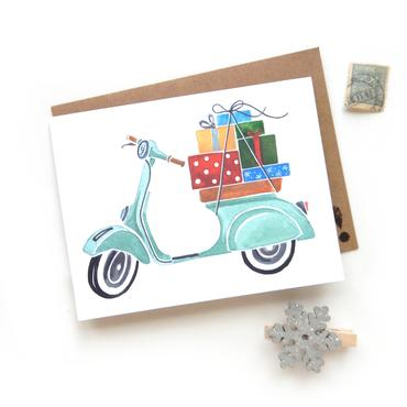 Holiday Vespa Cards (6 Pack)
