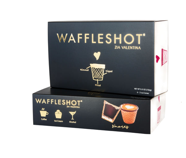 Waffleshot Edible Cups - 6 Pack