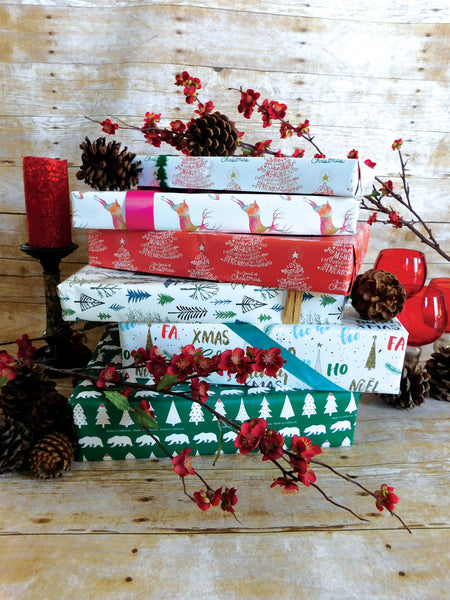 Santa's Little Helpers Gift Wrap