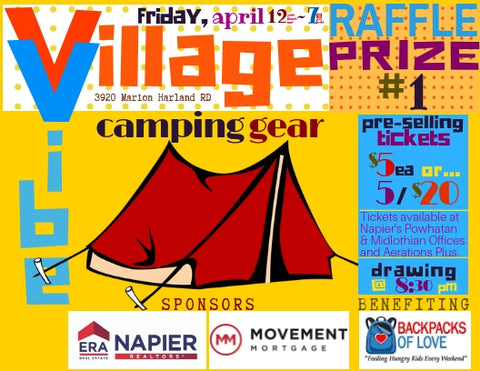 Powhatan Village Vibe Fundraiser April 12th