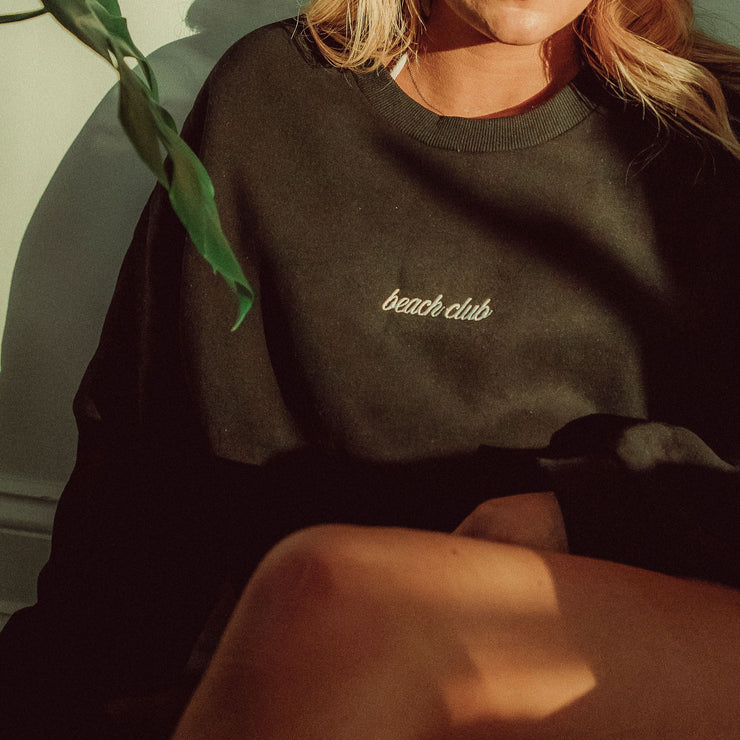 Beach Club Drop 2 Crewneck