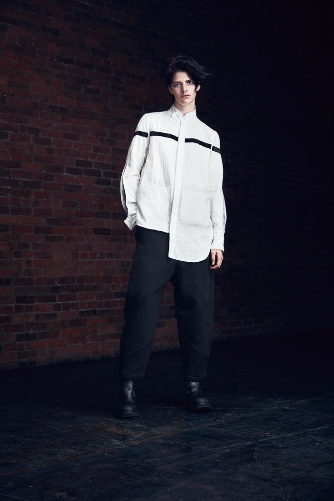 2WN FW2018 FILIP PANTS and EMA Shirt #2WN #GenderNeutralFashion #UnisexFashion #2WNWear #2WNStyle
