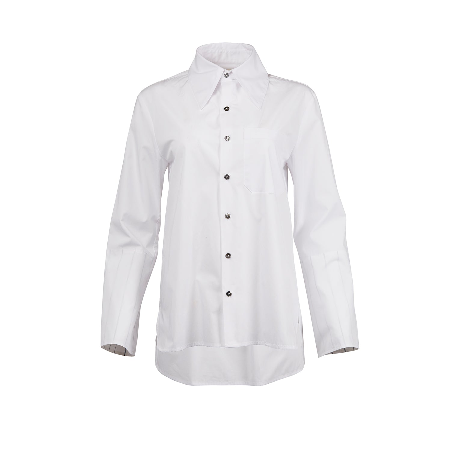 Nico Bell Sleeve Button-Down Shirt
