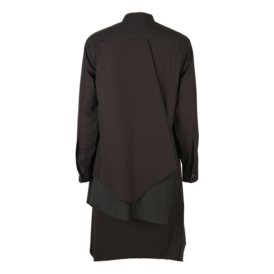 Ari Three-Tier Band Collar Tunic