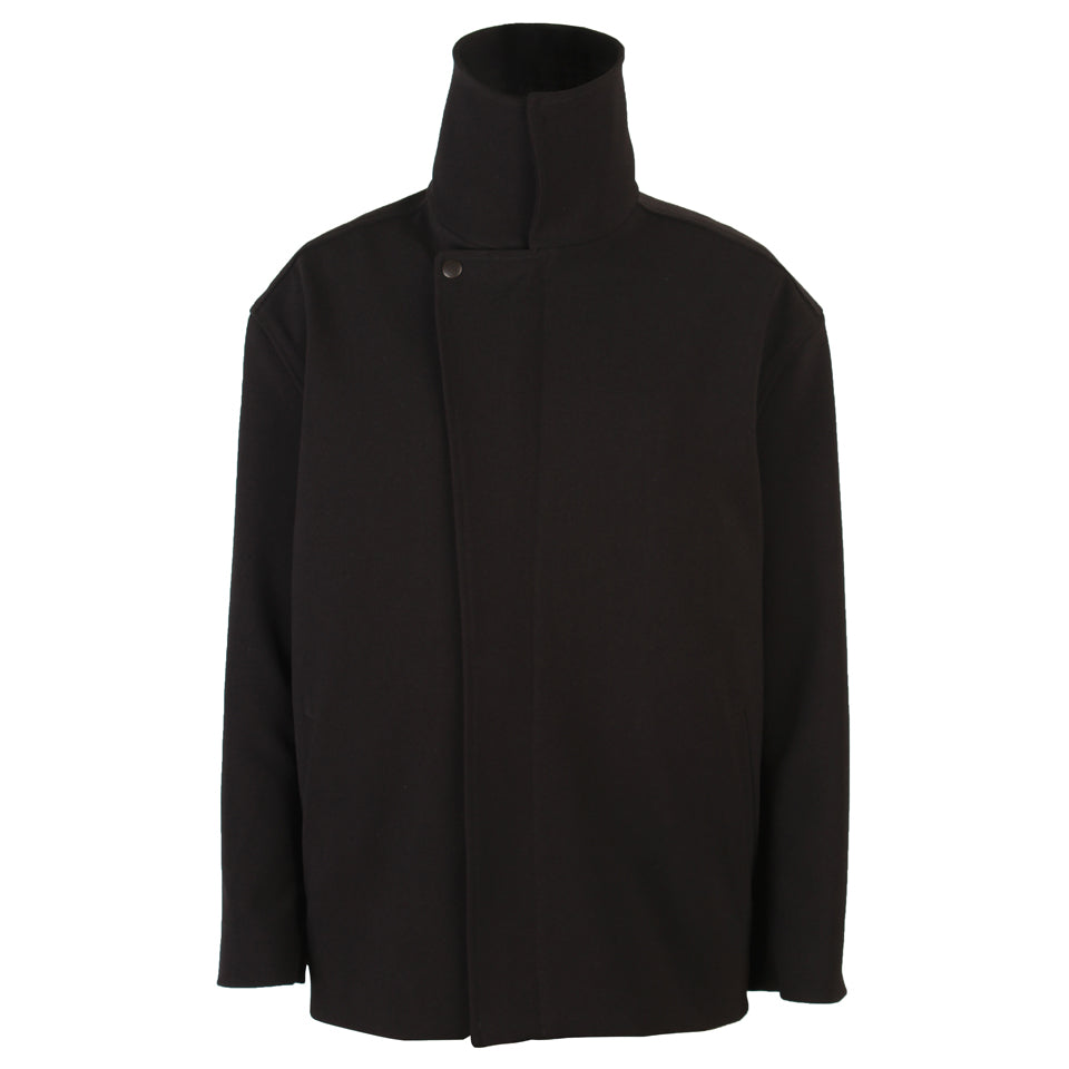 Carter High Collar Zip-Front Jacket