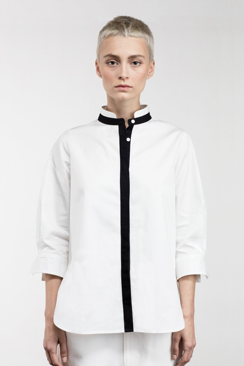 Viktor Button-Down Shirt White