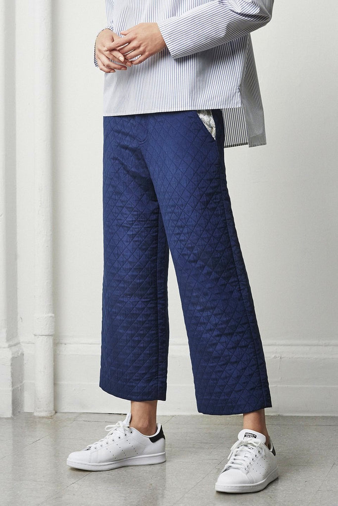 Ren Quilted Wide Leg Pant