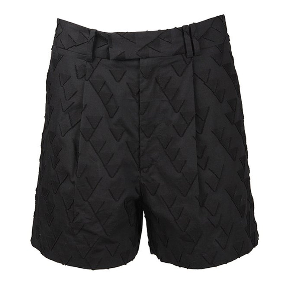 Emyr Long Rise Mid-Thigh Short