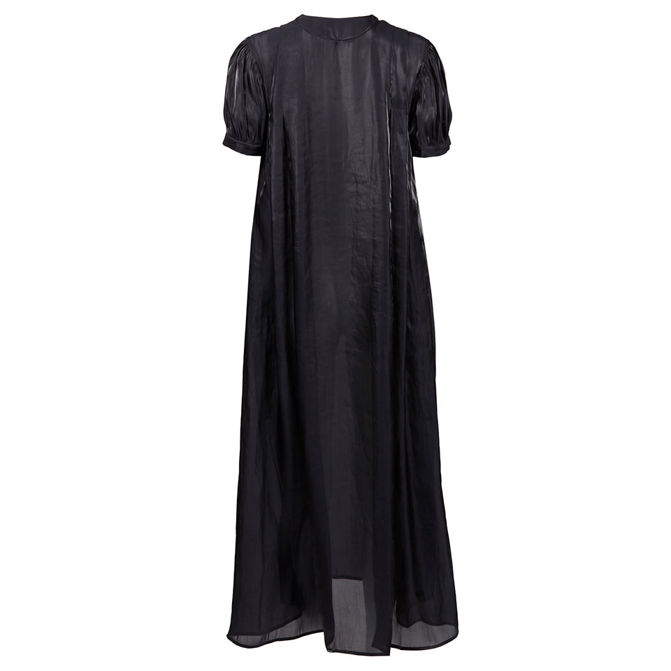 Clio Full-Length Puff Sleeve Tunic