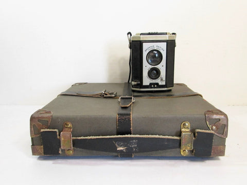 Vintage Film Reel Shipping Box, Film Case - GirlPickers