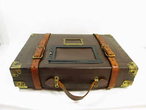 Vintage Film Reel Shipping Box, Industrial Film Shipping Case - GirlPickers