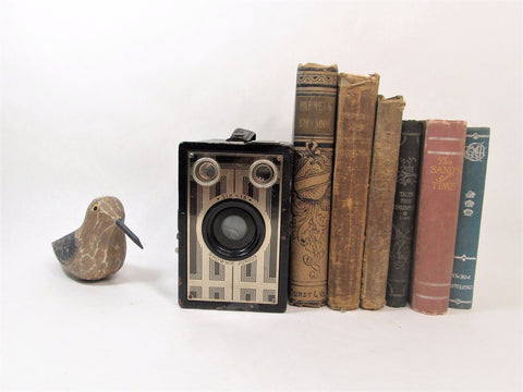 Art Deco Kodak Camera Vintage Kodak Target Six - 16 / Kodak Brownie Junior Camera - GirlPickers