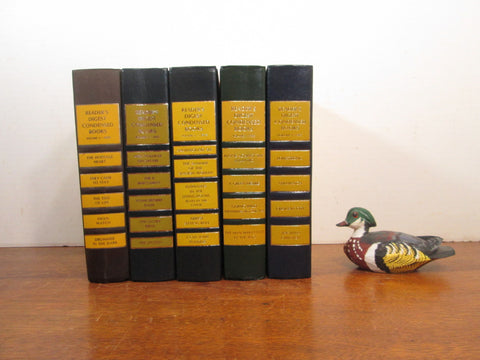 Vintage Yellow Book Stack, Mustard Books - GirlPickers