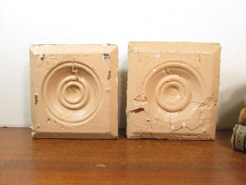 Wood Bullseye Plinth Blocks - GirlPickers