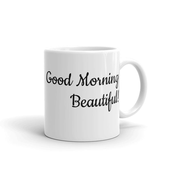 Good Morning Beautiful heart Mug