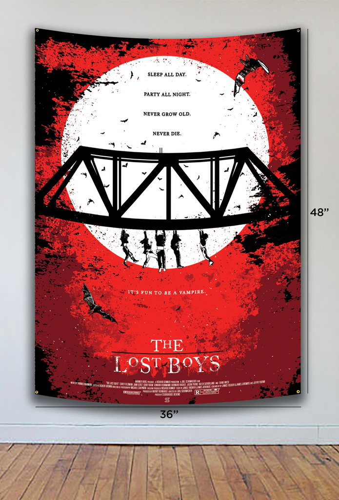 LOST BOYS FLAG