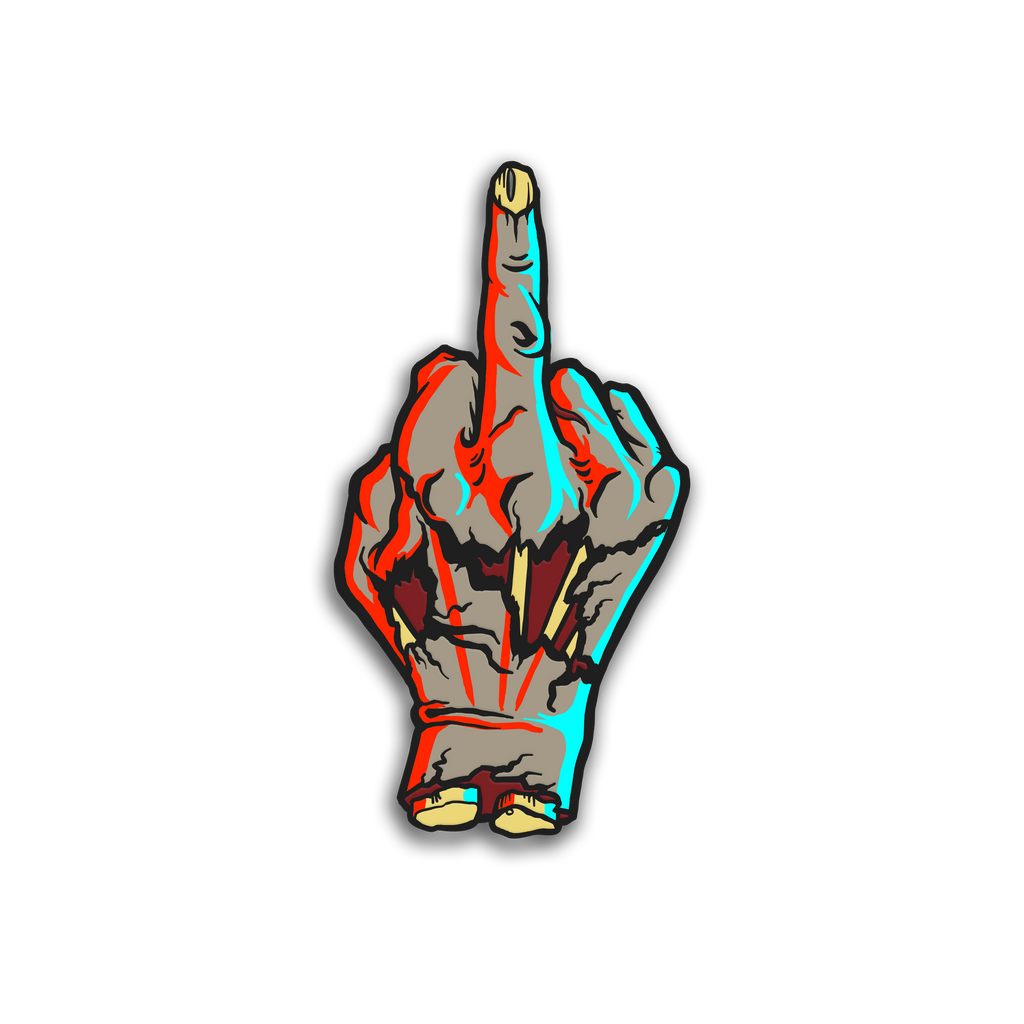 MIDDLE FINGER PIN