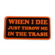 WHEN I DIE PATCH