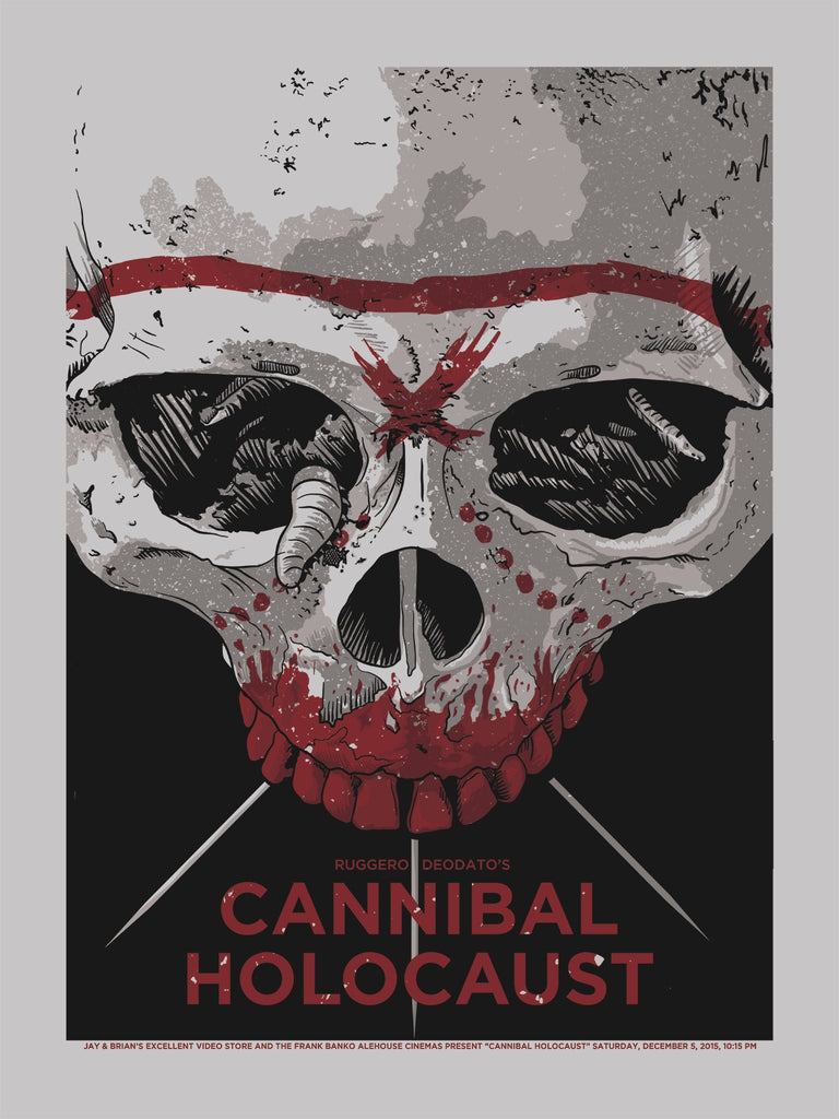 CANNIBAL HOLOCAUST - Studiohouse Designs