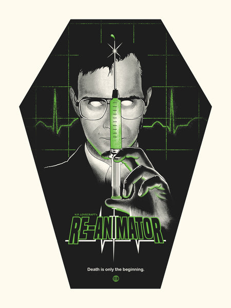 RE-ANIMATOR POSTER - Studiohouse Designs