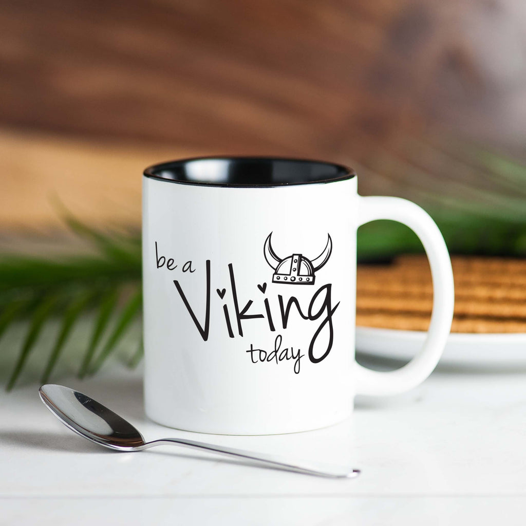 workout tanks for women, 'Be A Viking Today' Coffee Mug, Mugs, coffeeovercardio,